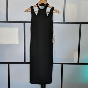 FOREVER 21 Choker neck dress